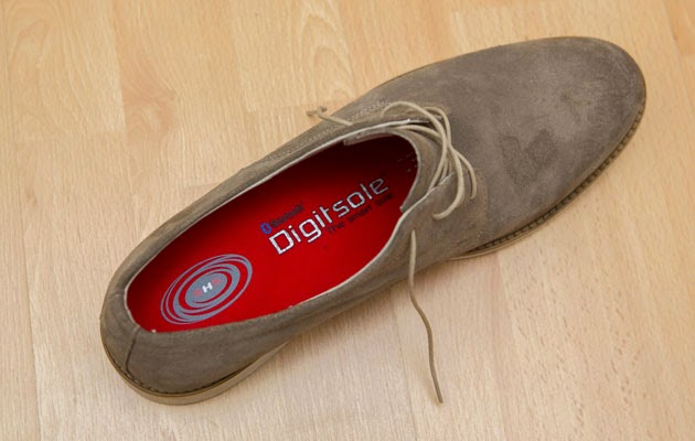 Digitsole-in-a-shoe