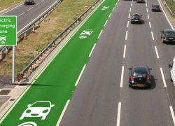 The UK is testing new Roads to Charge Electric Cars on the Go