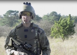 The British Ministry of Defence unveils a smart uniform for its Army
