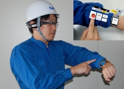 This Augmented reality keyboard will let you type on your arms!