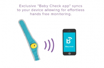 Baby Check, The Simplest Wearable To Monitor Your Baby