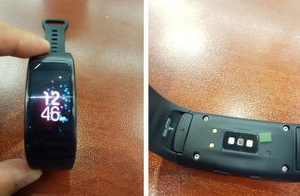 Leaked Images of a Samsung Gear Fit 2 fitness tracker ?