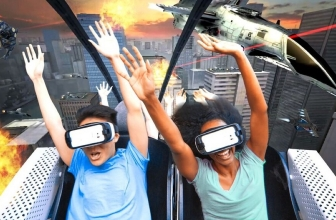 Samsung Gear VR will be used on roller coasters!