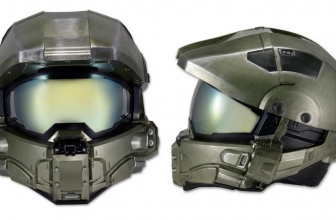 Halo Armor Motorcycle Helmet Expected This July