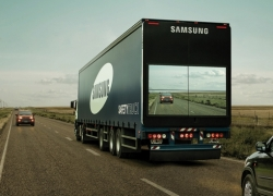 Samsung's Life Saving Truck Screens is the new company's project