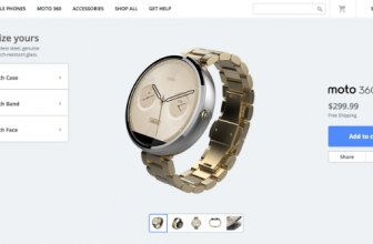 Now You Can Fully Customize Your Moto 360 Smartwatch