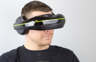 Vuzix Unveil The IWear 720 VR Headset